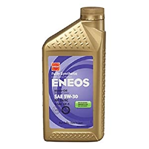 Eneos 5W-30 Fully Synthetic Motor Oil - 1 Quart, Pack of 6