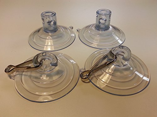 Kitty Cot Original World's Best Cat Perch - Replacement Set of 4 Giant Suction Cups