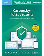 Kaspersky Total Security 2020 | 3 Devices | 1 Year | PC/Mac/Android | Activation Key Card by Post Mail | Antivirus Software, Internet Security, 360 Deluxe Firewall, Secure VPN, Password Manager, Safe Kids