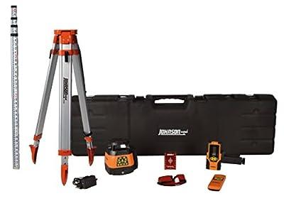 Johnson Level & Tool 99-028K Electronic Dual Slope Rotary Laser System