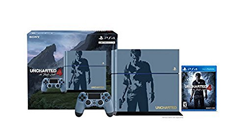 PlayStation 4 500GB Console – Uncharted 4 Limited Edition Bundle [Discontinued]