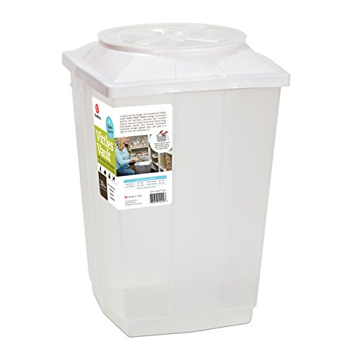 Vittles Vault Home 30 lb Airtight Pet Food Storage Container
