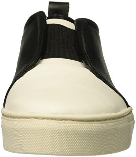 De Flexx Womens Rapture Sneaker Wit / Zwart Kasjmier