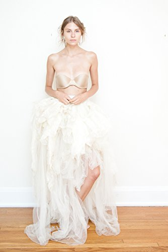 Bridal Separates Off White Tulle Bustle Over Skirt Train