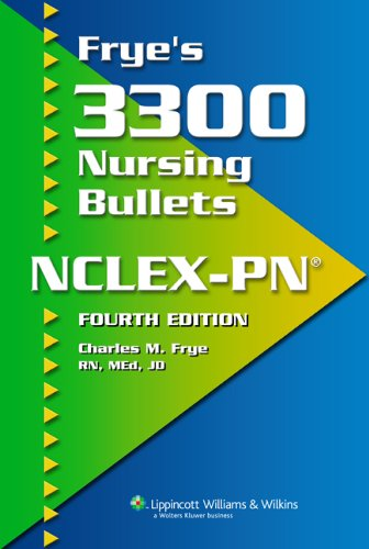 fryes-3300-nursing-bullets-for-nclex-pn
