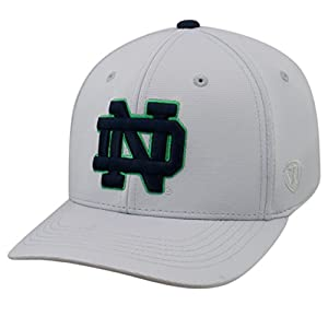 quality design 89e54 70ce4 Top of the World Notre Dame Fighting Irish Official NCAA One Fit Impact Hat  057903