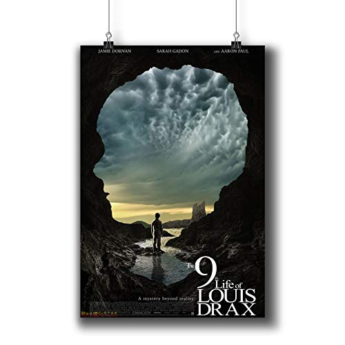 The 9TH Life of Louis Drax (2016) Movie Poster Small Prints 914-001,Wall Art Decor for Dorm Bedroom Living Room (A4|8x12inch|21x29cm)