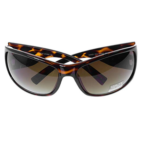 Mi Amore UV protection Sport-Sunglasses Tortoise-Shell/Brown