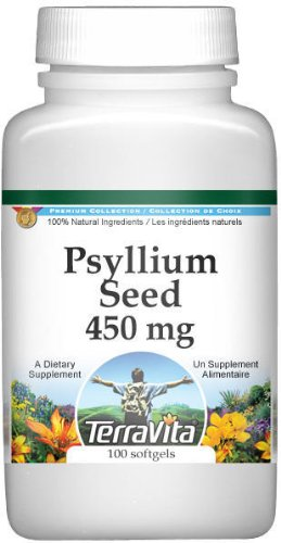 Psyllium Seed (Fiber) – 450 mg (100 Capsules, ZIN: 511401)