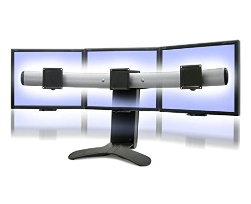 Ergotron 33-296-195 LX Triple Display Lift LCD Desk Stand (Up to 30'' Screens)