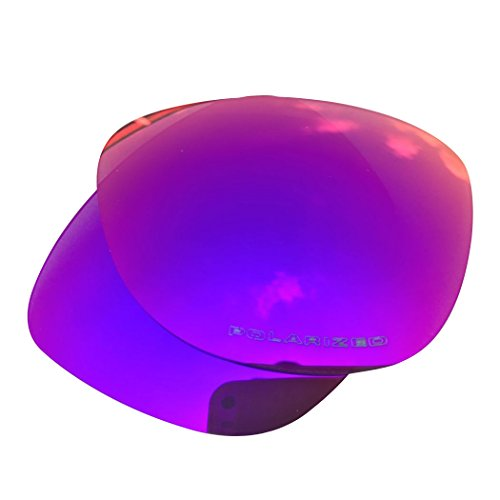 Owants Polarized Replacement Lenses for Your Oakley Frogskins Sunglasses Frames - Multiple Colors Availble (Blue Red-Polarized)