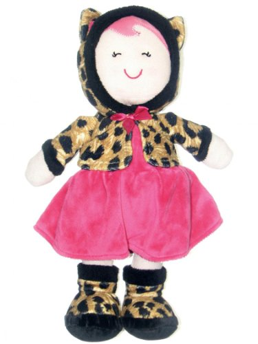 Baby Girl Leopard Print Doll by Baby Starters - Brown - Not