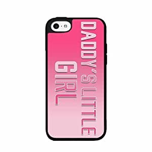 Daddy's Little Girl- Plastic Phone Case Back Cover iPhone ipod touch4