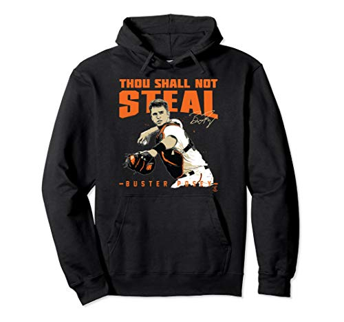 Buster Posey Thou Shall Not Steal Hoodie - Apparel