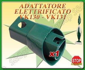 Sconosciuto ADATTATORE ELETTRIFICATO PER FOLLETTO VK 130 VK 131 S&G