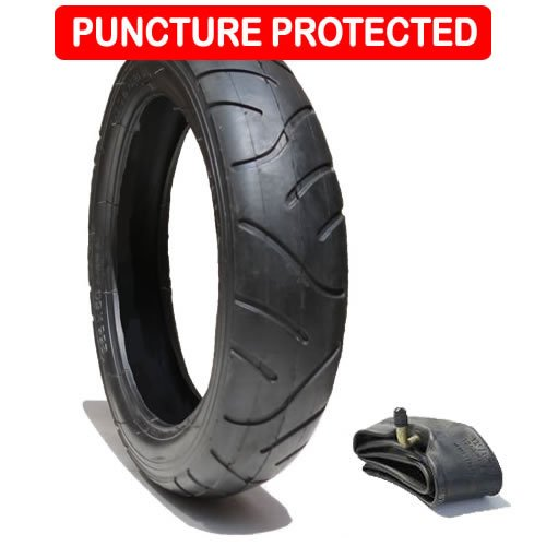 Tyre 255 x 50 plus inner tube for iCandy front wheel - Puncture Protected het