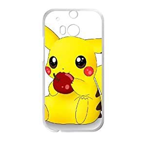 Pikachu HTC One M8 Cell Phone Case White g1877305 by ruishername