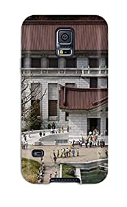 For WbcfUmo28326BxsAS Japanese Architecture Protective Case Cover Skin/galaxy S5 Case Cover