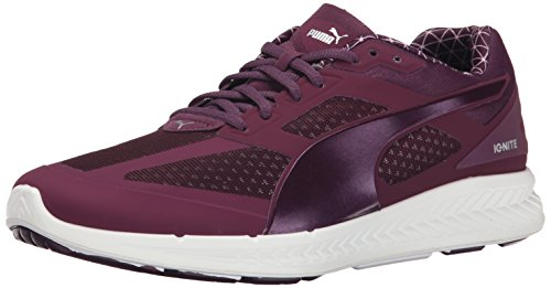 Puma Women's Ignite PwrWarm Running Shoe, Italian Plum, 7 M US