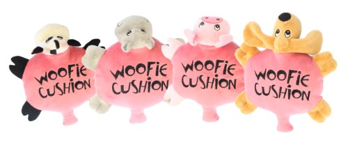 Multipet The Woofie Cushion Dog Toy, My Pet Supplies