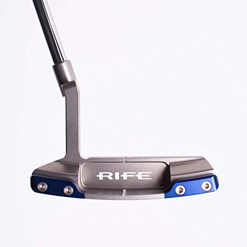 *Rife Golf Switchback Plummer Neck Putter Sterling Right Handed 35 by Rife (Image #1)