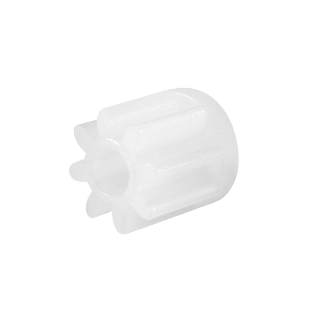 Sourcingmap – Engranajes de plástico reductores de gusanos modelo 082A para motor de robots de coche RC, 30 unidades