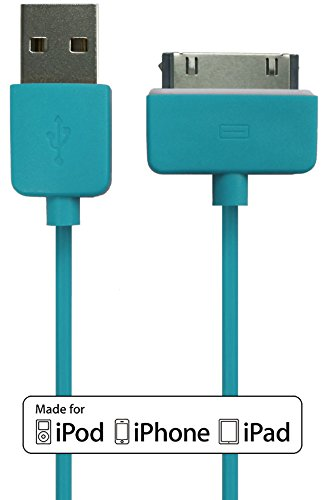 USB to 30pin Data Sync Cable for Apple (Blue) - 5