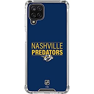 Skinit Clear Phone Case Compatible with Galaxy A12 – Officially Licensed NHL Nashville Predators Lineup Design