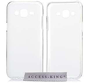 Funda carcasa para Samsung Galaxy J5–carcasa de silicona Tpu para Samsung J5Case Cover Funda Tipo carcasa Matte translúcido color blanco incluye lápiz capacitivo)