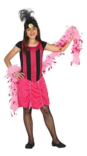 Atosa-20814 Disfraz Cabaret, Color Fucsia, 10 a 12 años (20814 ...