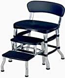 STS SUPPLIES LTD 3Step Step Stool 2 Pieces Set Up Helper High Chair Kitchen Stepping Metal Slip Protector Bariatric Seat Aid Portable Adult & eBook by AllTim3Shopping.