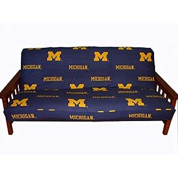 Amazon Com College Covers Michigan Wolverines Futon Cover
