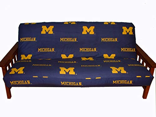 College Covers Michigan Wolverines Futon Cover, Full (Futon Bright Cover)