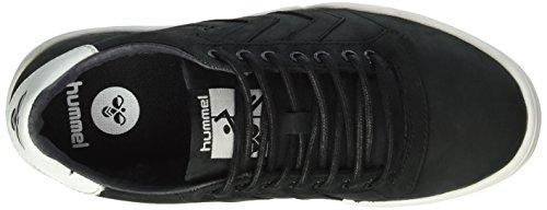 Hml Stadil Sneaker Bassa Invernale (taglio Basso), Sneakers Uomo E Donna Foderate (unisex), Sneakers In Pelle In Pelle Liscia / Scamosciata, Fodera In Tessuto Caldo, Scarpe Casual Sportive Nere (nero)
