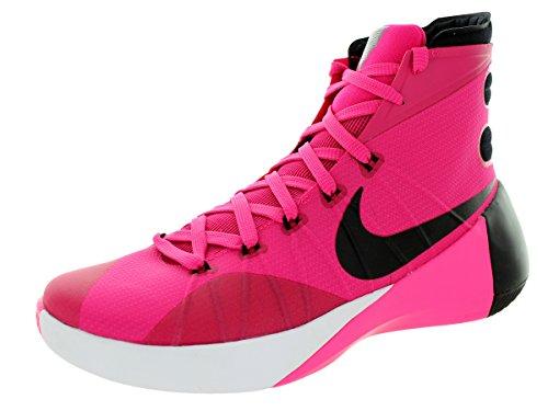 Nike Pow Pink Hyperdunk Shoe White Black Mens Pink 8 Vivid 2015 Basketball ZZrSq8w