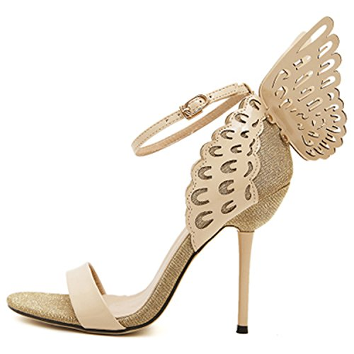 Pumps Shoes Bowtie Butterfly Lavender Summer High Wings Ankle Pointed Strap Shoes Toe Woman Westbrook Women Robert Sandals Heels Z4qaaS