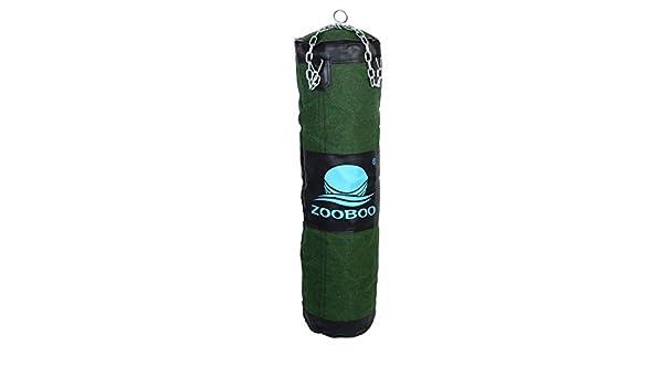 Amazon.com : eDealMax ZOOBOO autorizado de entrenamiento de boxeo Kickboxing ejercicio pesado Bolsa de vacío Formación de perforación DE 90 cm de altura ...