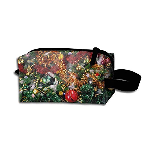 (Multi-functional Christmas Tree Decorations Tinsel Pencil Bag Coin Purse Storage Travel Cosmetic Bag)
