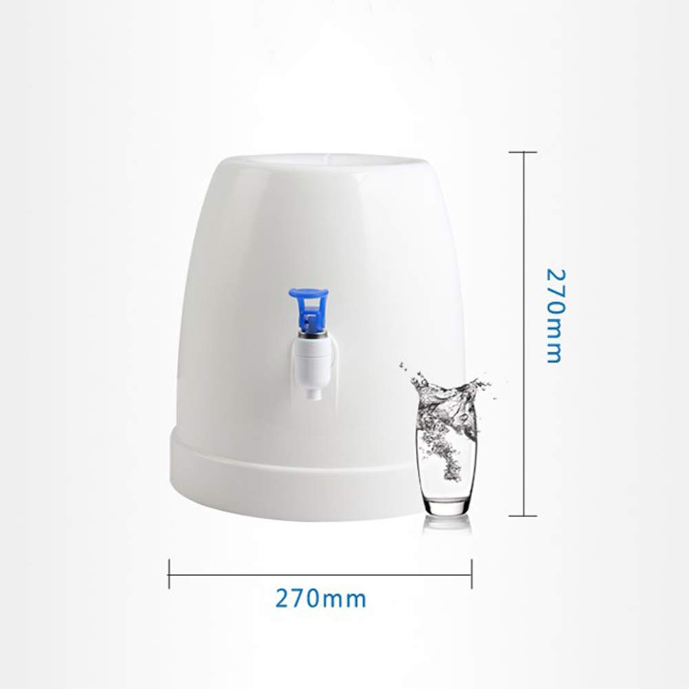 H&YL Mini Encimera Botella Agua Refrigerador Dispensador Inicio Uso De La Oficina(White) 270 * 270Mm: Amazon.es: Hogar