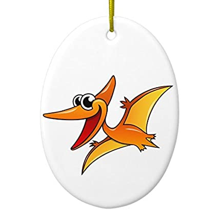 Amazon Com Funny Christmas Ornaments For Kids Cartoon Pterodactyl