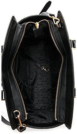 Michael Kors , Sac pour femme à porter à l'épaule Schwarz 36 cm x 25 cm x 15 cm