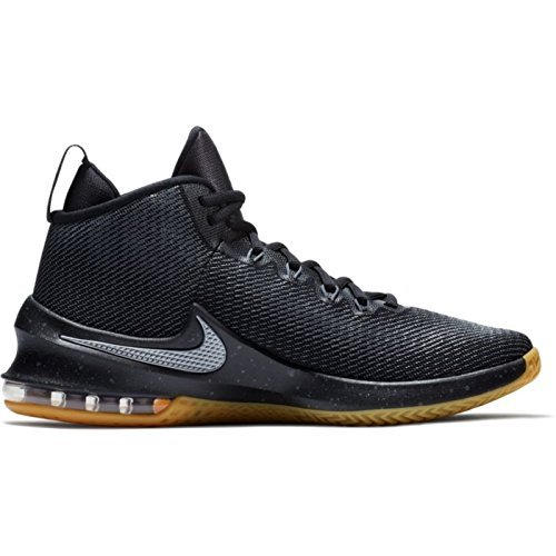 new arrival a43ac 30615 Galleon - NIKE Men s Air Max Infuriate Mid Premium Basketball Shoes (Black  Grey, 10.0 D(M) US)