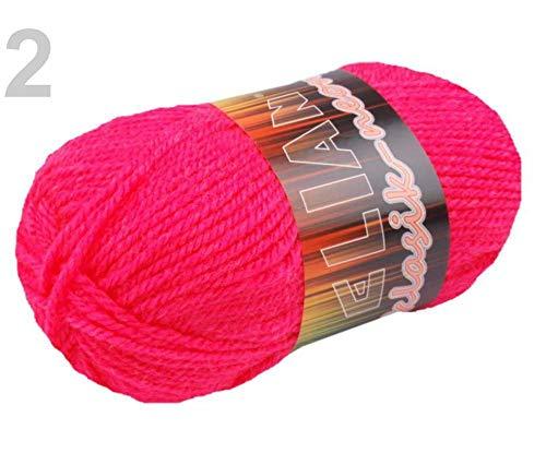 1pc 2 (10916) Pink Lemonade Knitting Yarn 50g Elian Klasik Neon, Knitting, Crochet, Embroidery, Haberdashery