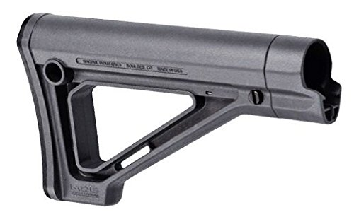 Magpul Industries MOE Fixed Carbine Fits AR Rifles Mil-Spec Grey Finish Stock
