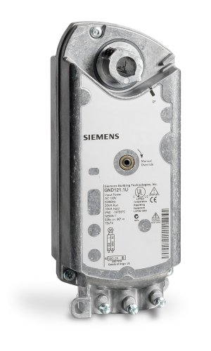 Siemens GND121.1U Electronic Damper Actuator for UL Listed Fire and Smoke Control (Electronic Damper)