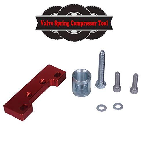 - Valve Spring Compressor Tool B-Series VTEC Cylinder Heads B16a B18c H22a for Honda (Red)