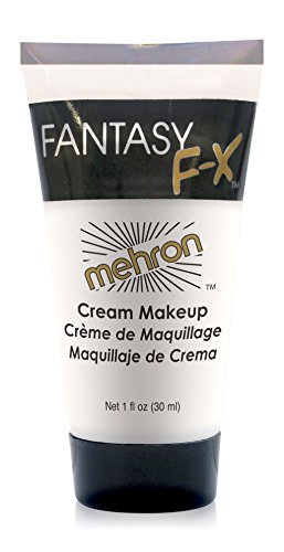 Mehron Makeup Fantasy F/X Water Based Face & Body Paint, FLUORESCENT BLUE – 1oz Carded