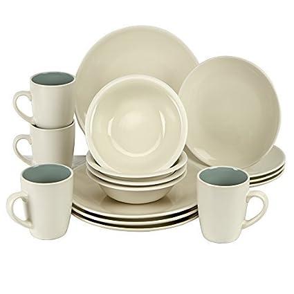 Jamie Oliver Essentials Kitchen Dinnerware Service Set - 16 Piece.  sc 1 st  Amazon.ca & Jamie Oliver Essentials Kitchen Dinnerware Service Set - 16 Piece ...