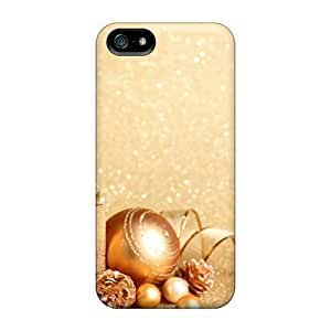 Flash-Men Iphone 5/5s Well-designed Hard Case Cover Christmas And Happy New Year 88 Protector