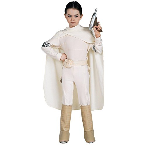 Padme Costume Girls (Star Wars Deluxe Padme Amidala Costume, Small)